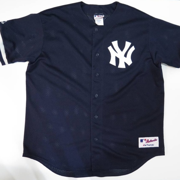 614498f5a Majestic Other - VTG New York NY Yankees Practice Jersey Mesh 1996